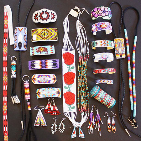 Picture for category Native American Navajo Beadwork