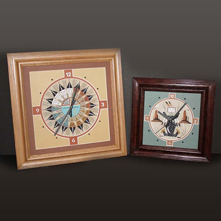 Picture for category Navajo Sand Painting Clocks