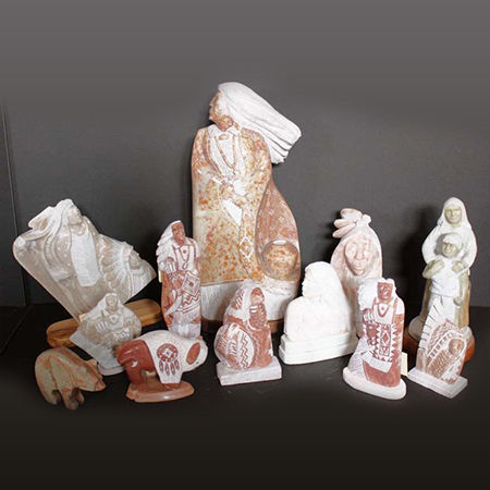 Picture for category Navajo Alabaster Sculpture