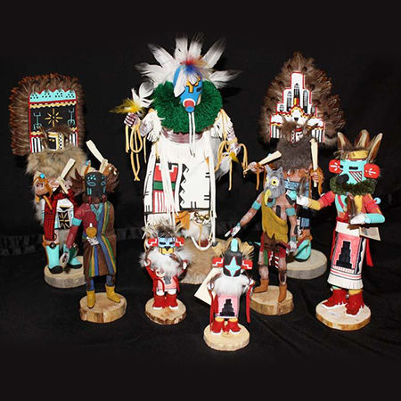 Picture for category Navajo Cloth Dolls   Kachina Dolls