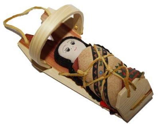 Picture of CRADLE BOARD DOLL 27