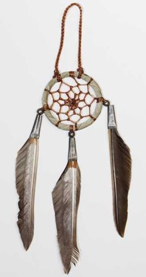 Picture of NATIVE AMERICAN DREAM CATCHER 02