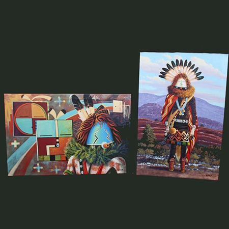 Picture for category Native American Navajo Fine Art Paintings