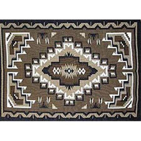 Picture for category Two Grey Hill Style Navajo Rugs