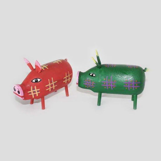 Picture of FOLK ART PIG 54