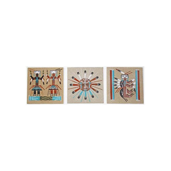 Picture of NAVAJO SAND PAINTING UF 44