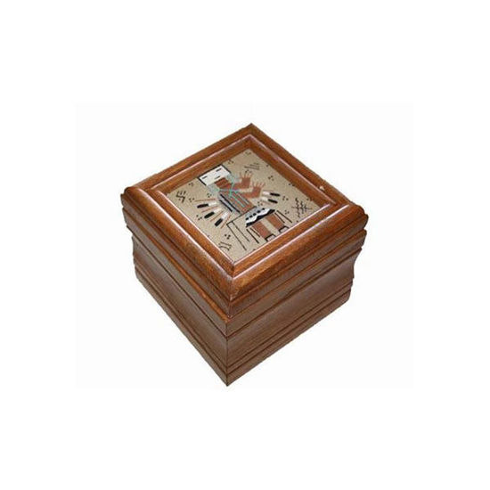 Picture of NAVAJO SAND PAINTING BOX 33