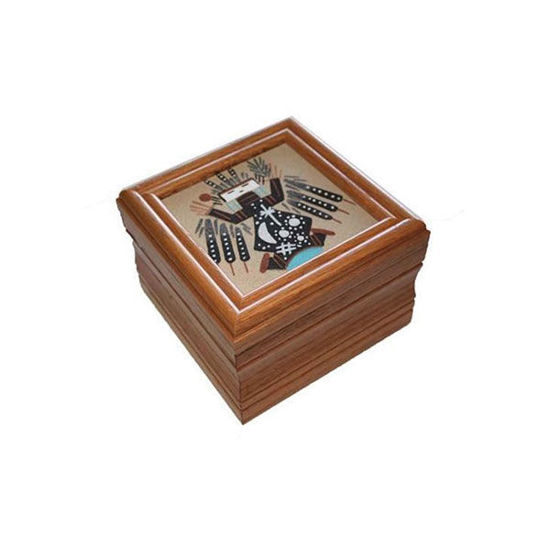 Picture of NAVAJO SAND PAINTING BOX 44