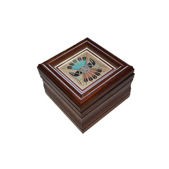 Picture of NAVAJO SAND PAINTING BOX 44G