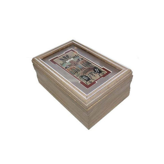 Picture of NAVAJO SAND PAINTING BOX 58G
