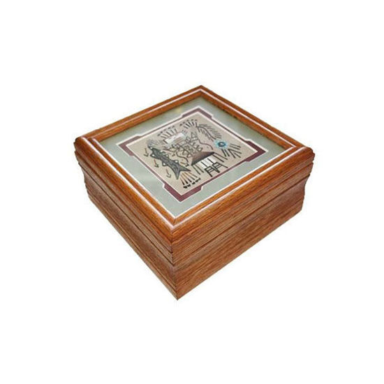 Picture of NAVAJO SANDPAINTING BOX 66G