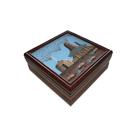 Picture of NAVAJO SAND PAINTING BOX 88