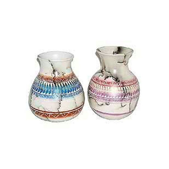 Picture of NAVAJO HORSE HAIR COLORED POTTERY 135
