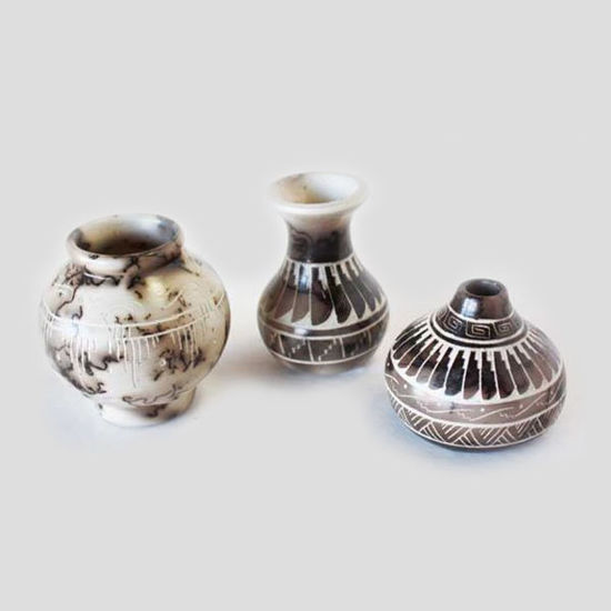 Picture of NAVAJO HORSE HAIR POTTERY 18