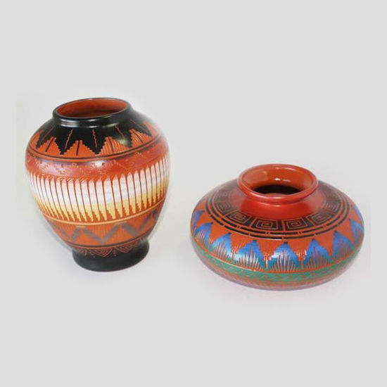 Picture of NAVAJO ETCHED POTTERY 081