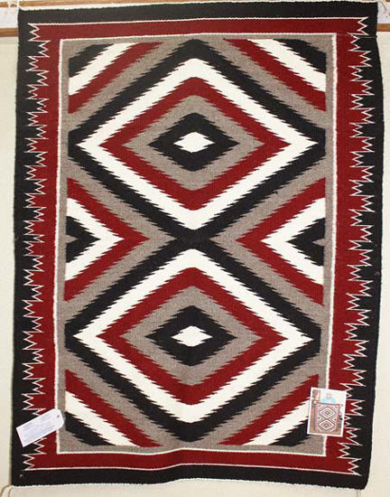 Picture of Outline Navajo Rug CD